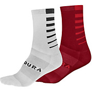 Endura COOLMAX® Stripe II Socks 2-Pack