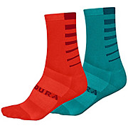 Endura Womens COOLMAX® Stripe Socks 2-Pack SS20