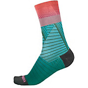 Endura Womens Graphic Sock Hi Viz Coral - LTD SS20