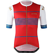 LE COL By Wiggins Pro Jersey White-Red SS20