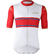 LE COL By Wiggins Sport Jersey White-Red SS20