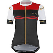 LE COL By Wiggins Womens Pro Jersey Ash-Red SS20