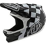 Troy Lee Designs D3 Fiberlite Raceshop Helmet SS20