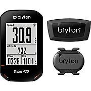 Bryton Rider 420T GPS Cycle Computer Bundle
