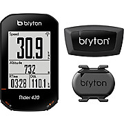 Bryton Rider420E GPS Computer with Cadence HRM