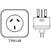 Tacx Power Lead Cable - Japan Australia & NZ