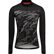 dhb Blok Long Sleeve Jersey - Textured Camo AW20