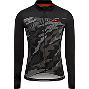 dhb Blok Long Sleeve Jersey - Textured Camo AW20