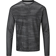 dhb MTB Long Sleeve Trail Jersey - Glitch AW20
