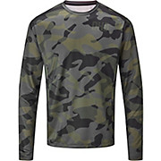 dhb MTB Long Sleeve Trail Jersey - Camo AW20