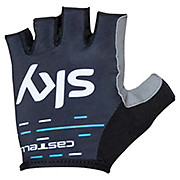 Castelli Team Sky 2017 Kids Fan Gloves SS17