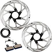 Prime Shimano Road Disc Brake Rotors and Pads