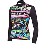 Castelli Womens Graffiti Thermal Jersey