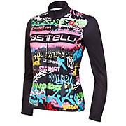 Castelli Womens Graffiti Thermal LS Jersey Ltd AW20