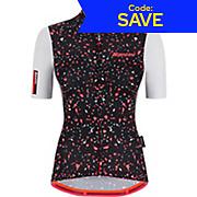 Santini Womens Delta Pietra Short Sleve Jersey 2021