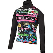 Castelli Womens Graffiti Windstopper Jacket