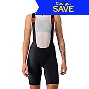 Castelli Womens Premio Black Bib Shorts SS21