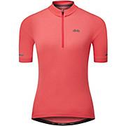 dhb Womens 1-4 Zip Short Sleeve Jersey 2.0 2021