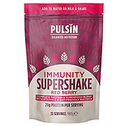 Pulsin Immunity Supershake Red Berry 980g