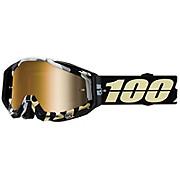 100 Racecraft Goggle Mirror Gold Lens
