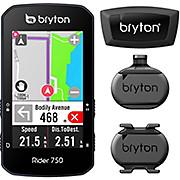 Bryton Rider 750T GPS Cycle Computer Bundle