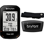 Bryton Rider 420H GPS Cycle Computer Bundle