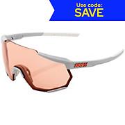 100 Racetrap Soft Tact Grey Hiper Sunglasses