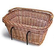Basil Wicker Rectangular Front Basket