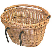 Basil Wicker Oval Front Basket