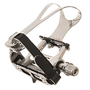 Token Track Flat Pedals With Toe Clips
