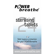 POWERbreathe Cleansing Tablets 24 Pack