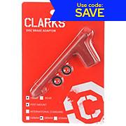 Clarks Alu Anodised Mount Adaptor Front Post