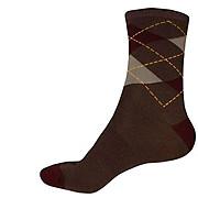 Endura Argyll Sock - Burgundy SS17
