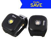 Knog Blinder 1 LED Front & Rear Twin Pack