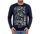 Cycology Bike Maths Long Sleeve T-Shirt AW18